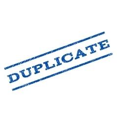 Duplicate Watermark Stamp vector