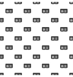 Electronic watch pattern simple style vector