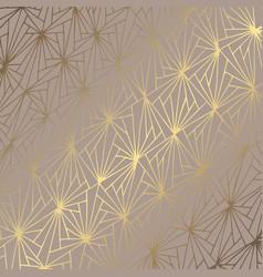 golden abstract elegant decorative background vector image