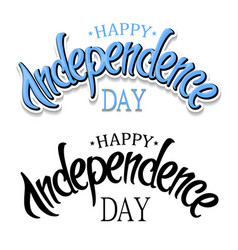 united stated independence day greeting vector image