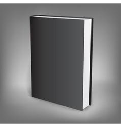 black book presentation vector image