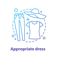 casual style concept icon vector image