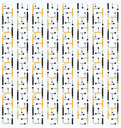 circuit board style seamless pattern vector image