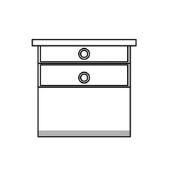 drawers icon image vector image