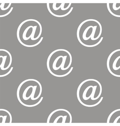 Email seamless pattern vector