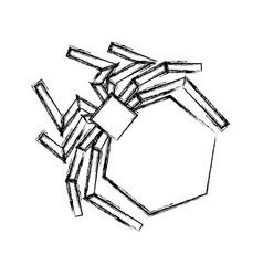 Isolated hacker virus spider vector