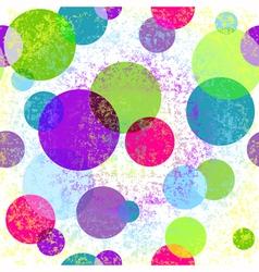 Light grungy seamless rainbow pattern vector