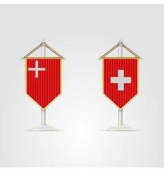 National symbols of Switzerland vector