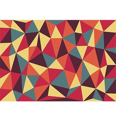 Retro Triangles Background vector