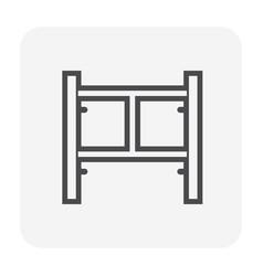 scaffolding part icon vector image