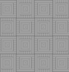 Square Black White Pattern vector