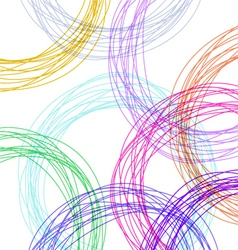 hand drawn colorful background vector image vector image