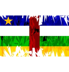 Central African Republic vector image