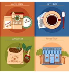 Coffee Concept Set vector image