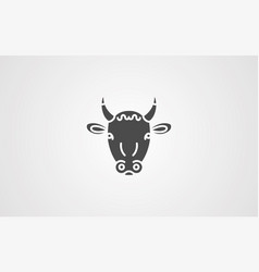 cow icon sign symbol vector image