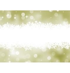Elegant background with snowflakes EPS 8 vector