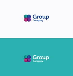 Group logo vector