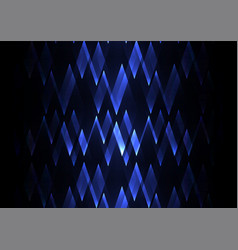 Sapphire fractal crystal shine abstract vector