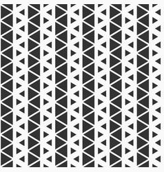 Seamless pattern of triangles vector