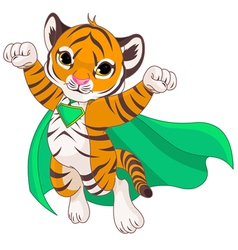 Super Tiger vector image