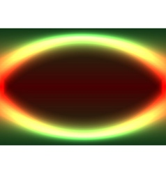 Abstract shiny ellipse frame vector image