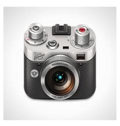 vector retro camera xxl icon vector image vector image