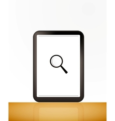 Searching for Data vector image vector image