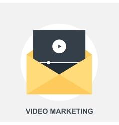Video Marketing vector image vector image