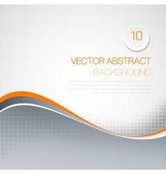 wavy technical background vector image