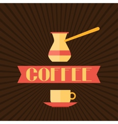 Coffee menu for restaurant cafe bar and vector image vector image
