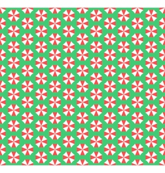 Summer seamless pattern with umbrellas isolated on vector image vector image