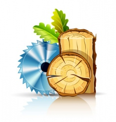 woodworking industry vector image vector image