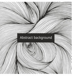 Abstract background with intricate intertwining vector