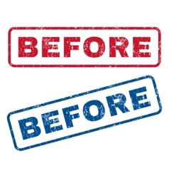 Before Rubber Stamps vector