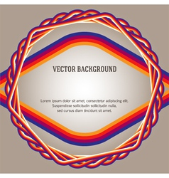 Beige color gradient background frame fiber cable vector