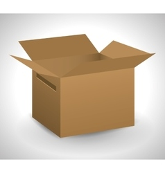 carton box package delivery icon graphic vector image