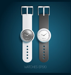Classic swiss watches vector