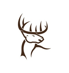 Deer-Head-380x400 vector
