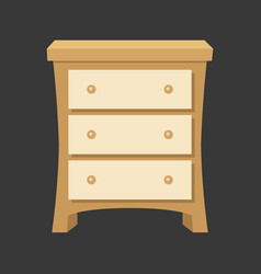 drawer vector image