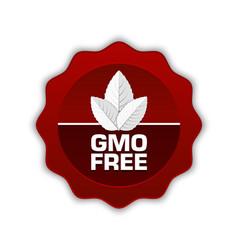 GMO Free icon vector