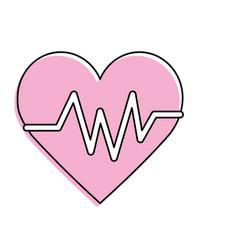 Heartbeat element to know cardiac rhythm vector