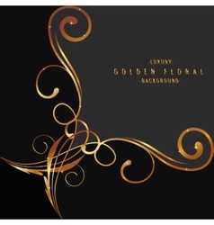 Luxury background design with light vibrant glow vector image vector image