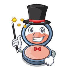 Magician blush is isolated with cartoons vector