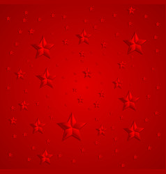 Red stars abstract background vector