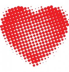 Valentines heart vector