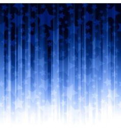 vertical stripes with stars vector image
