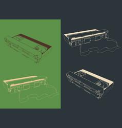 vhs cassettes vector image