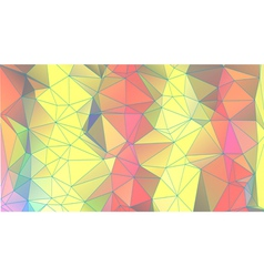 Abstract triangular geometric background vector