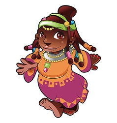 African lady vector