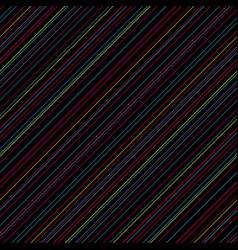 Black abstract color lines diagonal textured vector